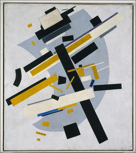 Kazimir Malevich / Suprematism No. 58